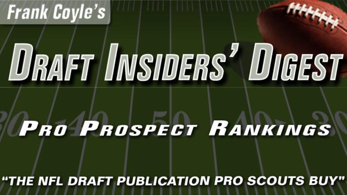 Draft Insiders-Pro Prospect Ranking